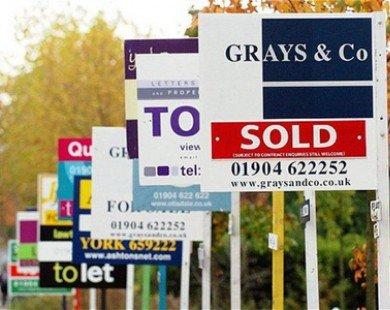 Giá nhà ở Anh tiếp tục xu hướng tăng trong tháng 11