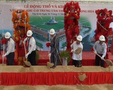 Khởi công xây dựng Trung tâm thương mại lớn nhất Tây Ninh