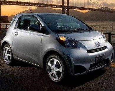 Toyota ngừng sản xuất xe siêu nhỏ iQ