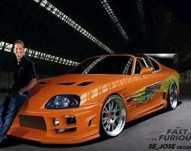 Paul Walker và những chiếc xe gắn liền với sự nghiệp