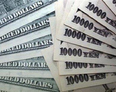 USD lên mức cao nhất trong 5 năm so với đồng yen