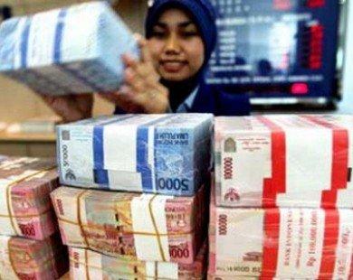 Đồng rupiah của Indonesia mất giá 20% trong năm 2013