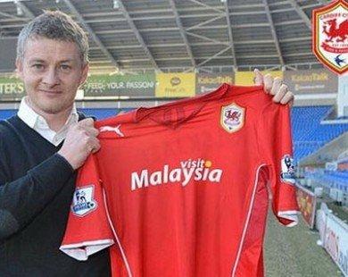 Solskjaer chính thức dẫn dắt Cardiff City, đối đầu M.U