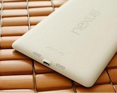 Nexus 7 2013 bản màu trắng về Việt Nam