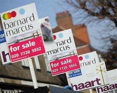 Giá nhà ở Vương quốc Anh tăng mạnh trong năm 2013