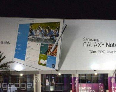 Samsung bắt đầu thể hiện ảnh hưởng trên thị trường tablet