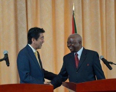 Nhật Bản cung cấp 70 tỷ yen ODA cho Mozambique