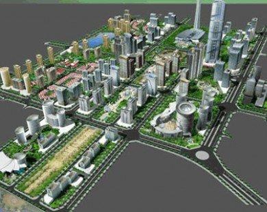 Điều chỉnh tổng thể quy hoạch khu đô thị Tây Hồ Tây