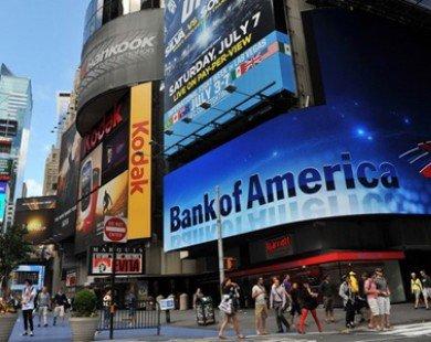 Bank of America thu lợi nhuận khổng lồ trong quý 4/2013