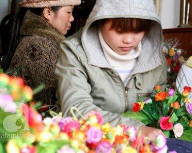 Nam Định: Hoa lụa, hoa đá thủ công chinh phục khách hàng