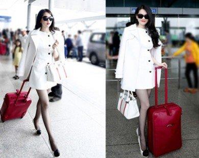 Ngọc Trinh - nữ hoàng thời trang sân bay showbiz Việt