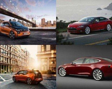 BMW: Mẫu i3 EV tốt hơn so với mẫu Tesla Model S