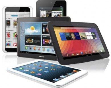 Hơn 200 triệu máy tính bảng được tiêu thụ năm 2013