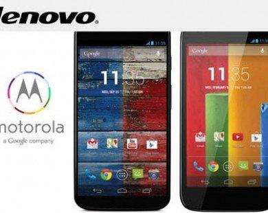 Google nắm 5,9% cổ phần Lenovo sau vụ bán Motorola