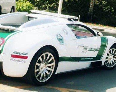 Bugatti Veyron trở thành siêu xe cảnh sát nhanh nhất thế giới