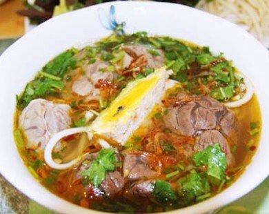 Những quán bún bò Huế siêu ngon tại Hà Nội