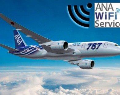 ANA triển khai dịch vụ wifi trên các tuyến bay quốc tế