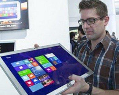 Sắp ra máy tính bảng 20inch sử dụng màn hình 4K