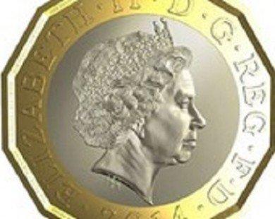 Anh ra mẫu đồng xu 1 bảng mới để chống nạn tiền giả