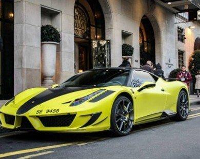 Ảnh đẹp siêu xe 23/3: Ferrari 458 Italia của Samuel Eto'o