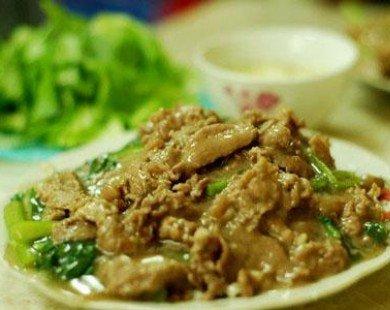 3 tiệm phở xào đắt xắt ra miếng ở khu trung tâm Hà Nội