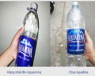 Nước uống đóng chai: Coi chừng hàng nhái!