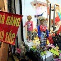 Thời trang giá sốc, nguồn gốc... China