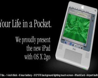 Xuất hiện hình ảnh về bản concept của iPad năm 2004