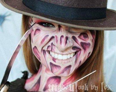 Kinh ngạc khuôn mặt biến tấu đủ hình thái nhờ tài make up