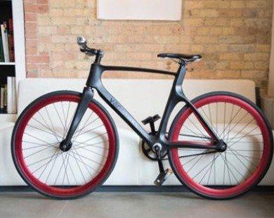 Xe đạp bằng sợi carbon kết nối Bluetooth