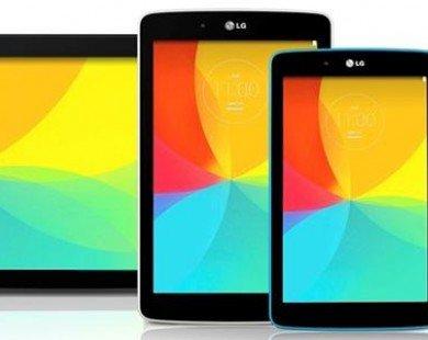 LG công bố 3 model mới của dòng máy tính bảng G Pad