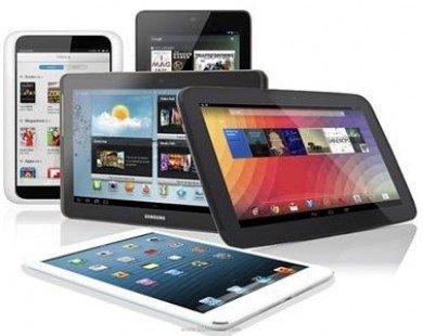Samsung dần đuổi kịp Apple trong thị trường tablet