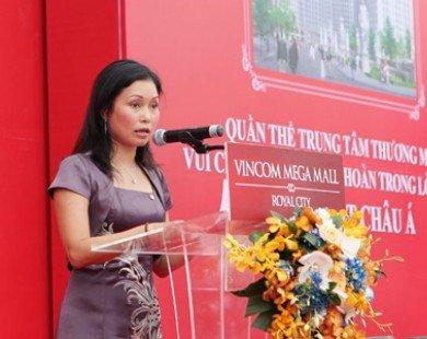 Nữ tướng của Vingroup bất ngờ xin từ chức Phó Chủ tịch HĐQT