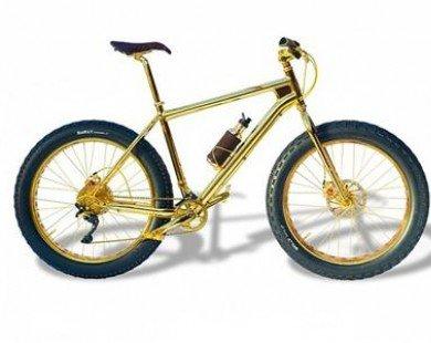 Xe đạp siêu sang bọc vàng 24 karat đắt nhất thế giới