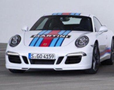 Porsche giới thiệu phiên bản xe đua Martini 911 Carrera S