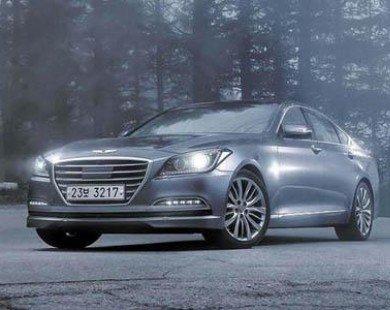 Hyundai Genesis 2015 với khả năng chống bắn tốc độ