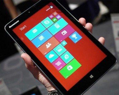 Lenovo thất bại với tablet Windows dưới 10 inch tại Mỹ