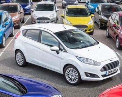 Ford Fiesta - Xe bán chạy nhất từ trước đến nay tại Anh
