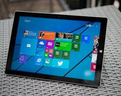 Microsoft: Surface Pro 3 bán tốt hơn nhiều so với các thế hệ trước