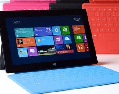 Máy tính bảng Surface khiến Microsoft mất 1,7 tỷ USD