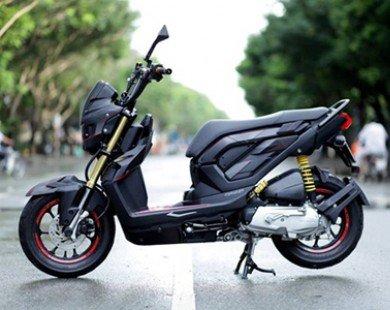 Honda Zoomer-X độ phong cách người máy RoboCop