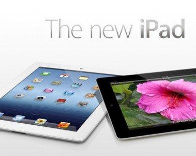 Apple bắt đầu sản xuất iPad mới