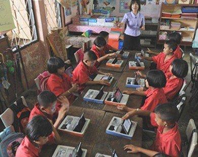 Dẹp máy tính bảng, xây lớp học thông minh