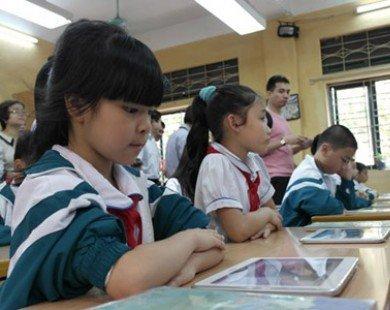 Đề án 'mỗi học sinh một máy tính bảng': Bộ GD lên tiếng