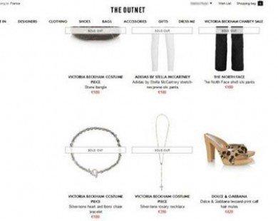 Victoria Beckham hợp tác bán hàng từ thiện với The Outnet