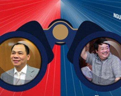 So sánh tỷ phú Vingroup và ông chủ của Masan