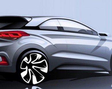 Hình ảnh đầu tiên của Hyundai i20 Coupe thể thao hơn