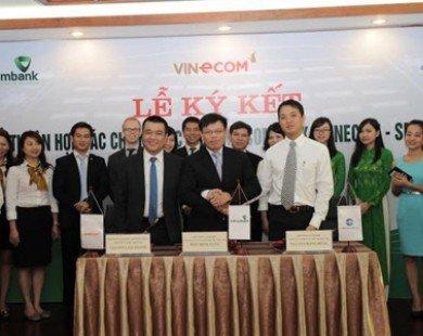Vietcombank và Smartlink cung cấp dịch vụ bán lẻ cho Vinecom