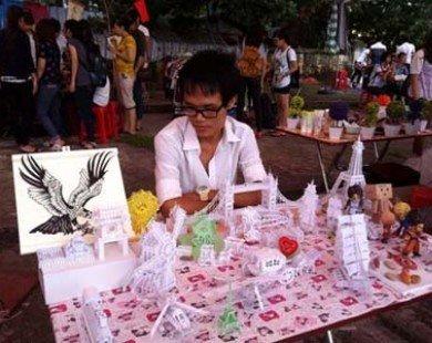 Hội chợ mùa thu của sinh viên Nông nghiệp hút khách