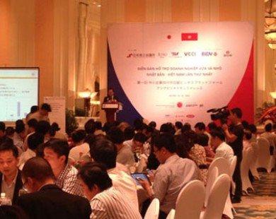 Diễn đàn hỗ trợ Doanh nghiệp vừa và nhỏ Nhật Bản tại Việt Nam